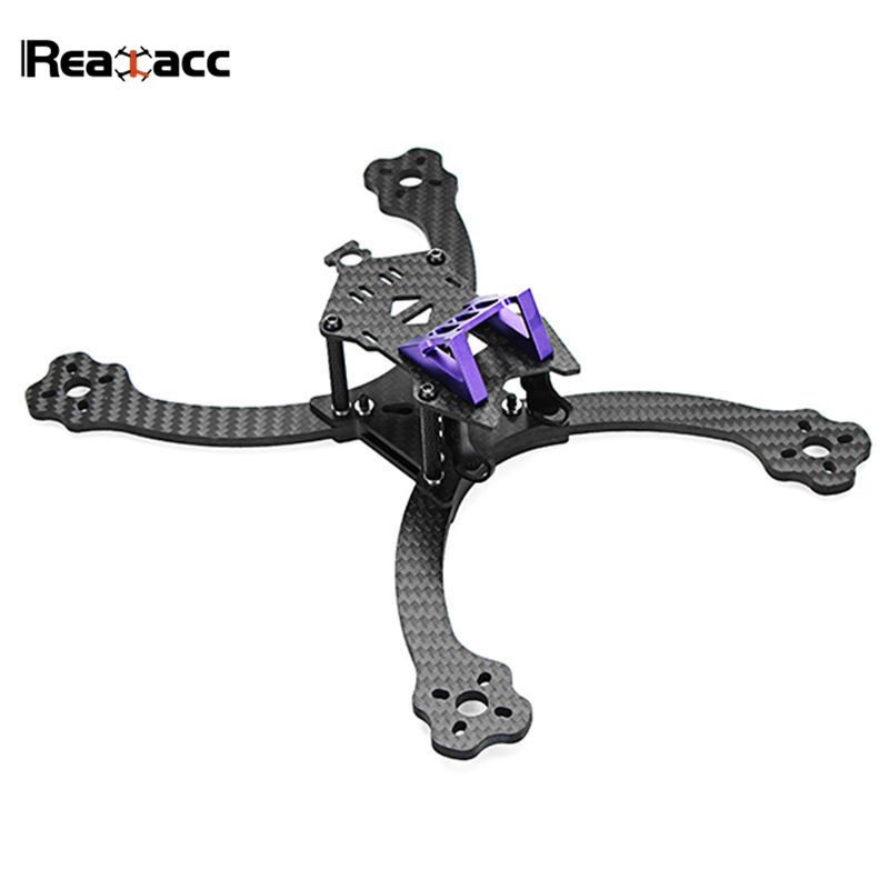 Realacc Firesword 220mm Wheelbase 4mm Arm Carbon Fiber Frame Kit for DIY RC Camera Drone FPV Racing Model Runcam Swift Cam Motor