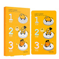 HOLIKA HOLIKA Gudetama Lazy & Easy Pig Nose Clear Black Head 3 Step Kit Nose Mask Strips Remove Blackhead Peeling Acne 1pcs
