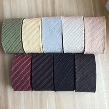 4cm Stripe Yarn Dyed Cotton Bias Binding Tapes Ribbon, Handmade Patchwork Fabric Trimming  Sewing Accessories 5 M