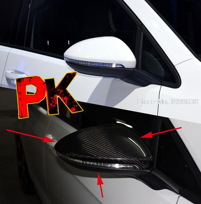 carbon fiber replacement mirror covers cap for volkswagen. Black Bedroom Furniture Sets. Home Design Ideas