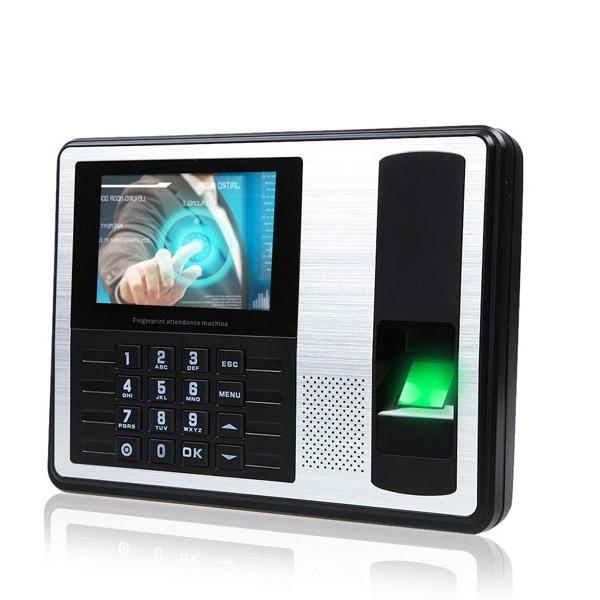 hfsecurity 4 tft screen biometric fingerprint time attendance tcp