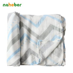 Double layer gauze bamboo muslin cotton baby swaddles 120 120cm for newborn baby swaddle blankets bath.jpg 250x250