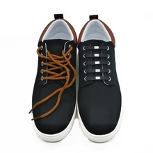12pcs/lot 2018 new style square button no tie elastic silicone shoelaces colorful novelty creative lazy shoe laces N066