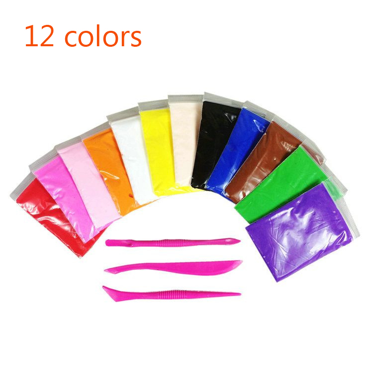 2017-New-Slime-24-Colors-Soft-Creative-Playdough-Children-Learning-Polymer-Clay-toys-light-clay-intelligent-plasticine-toy-gift-1