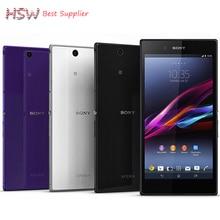 Открыл Sony Xperia Z Ultra XL39H оригинальный Android Quad-Core 2 ГБ Оперативная память Sony XL39h C6802 C6833 GSM3G и 4 г 6.4 «8MP WI-FI GPS 16 ГБ Встроенная память