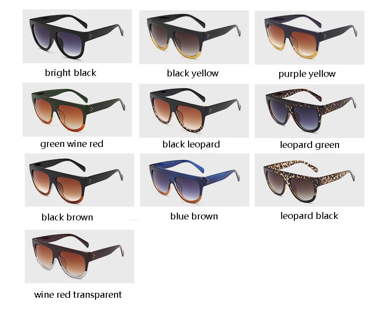HTB1ALreQpXXXXadXpXXq6xXFXXXw - Flat Top Retro Tortoise Shadow Women's Sunglasses