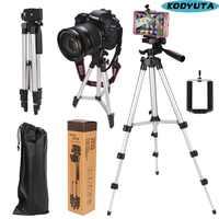 Universal Vier boden hohe Einstellbar + Faltbare Stativ Halter für kamera und handy bieten telefon halter mit einzelhandel box