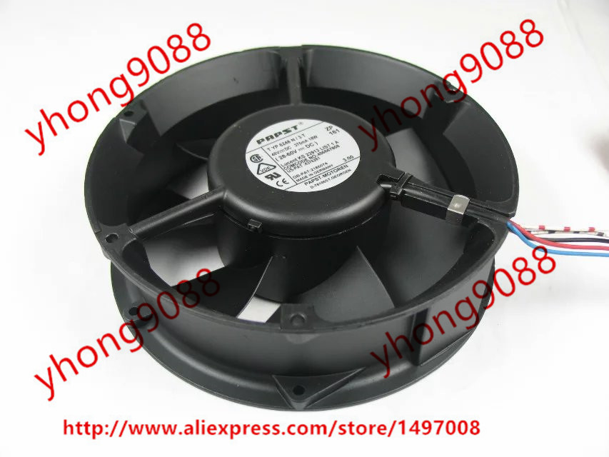 papst TYP 6248 N/3T TYP 6248N/3T 4-pin DC 48V 18W 172x172x50mm Server Round fan ebm papst papst typ 6248 n 22 dc 48v 18w 4 wire 4 pin 170x170x50mm server round fan
