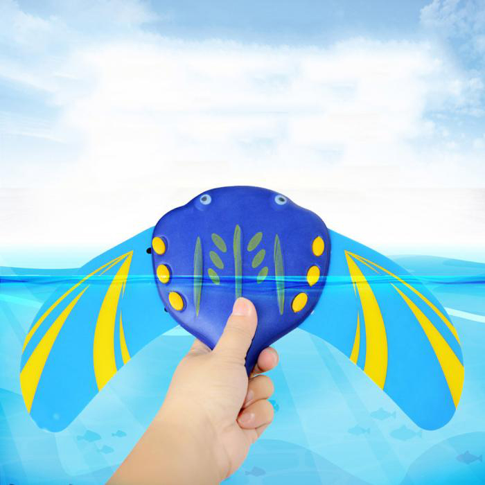 Swiming Pool Water Mini Fish Underwater Glider Self-Propelled Adjustable Fins Pool Game For Children Kids Beach Toys Enfant
