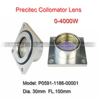 Import Quartz Freeshipping Precitec Collimator Lens Dia30mm FL100mm P0591 1186 00001 0 4000W for Prima/Hans Laser Cutting Head