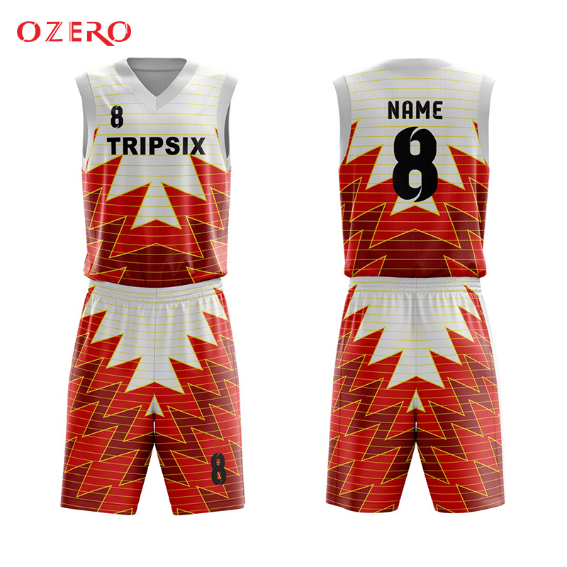 c1211482bcb Men new style sublimation custom basketball jersey china color orange, basketball  uniform design red any logo name numberpattern-in Basketball Jerseys from  ...