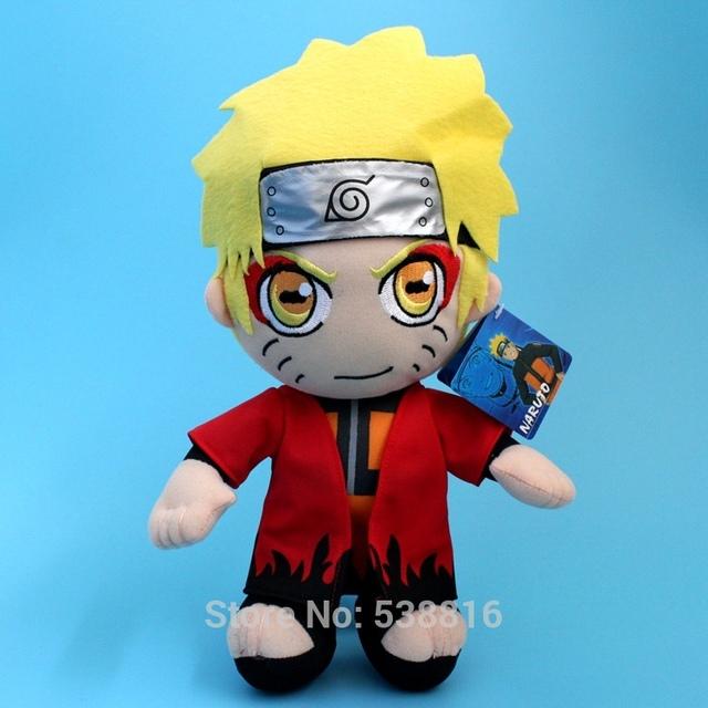 """Anime Brinquedos Sennin Moodo Uzumaki Naruto peluche muñeca de peluche de regalo de 12 """" los 30 CM"""