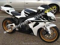 Hot Sales,For Honda CBR1000RR 06 07 CBR 1000 1000RR CBR1000 RR 2006 2007 White Black Sportbike Fairing Kit (Injection molding)