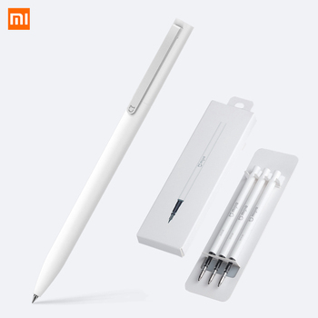 Xiaomi Mijia P E N With 0.5mm Swiss Refill 143mm Rolling Roller Ball Mi Xiomi Sign Signing Ballpoint Mechanical Pencils