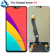 "NEW 6.5""For Huawei Honor 8X LCD Display Touch Screen JSN-AL00 JSN-L22 Digitizer Assembly For HUAWEI Honor8X Replacement Parts"