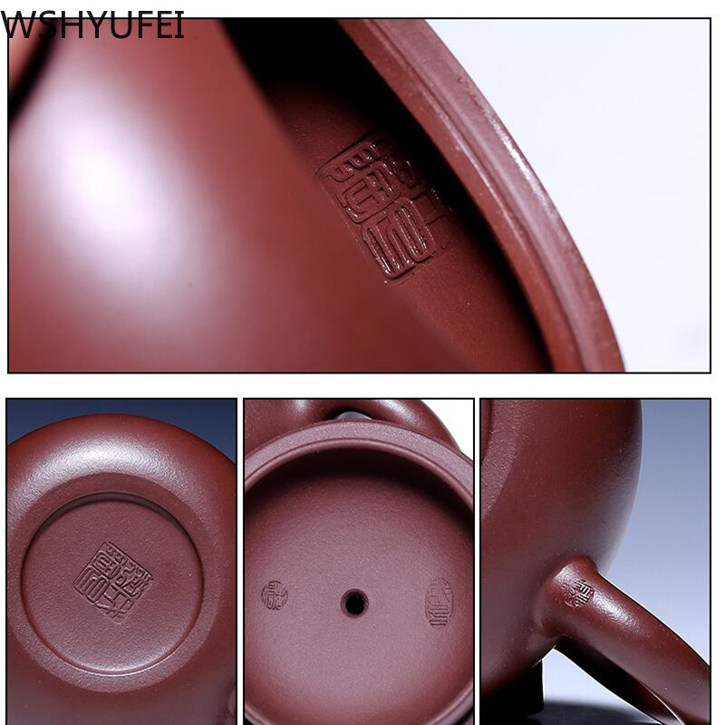 190 ml hecho a mano de vidrio de borosilicato grueso té olla filtro chino KungFu tetera perfumada tarde té accesorio - 5