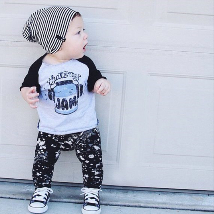 2017 Baby Boy Clothes Sets Boy Clothes Cotton Cartton With Long Sleeve T-shirt + Pants Infant Clothing 2 pcs. Costume SY173 2pcs baby boy clothing set autumn baby boy clothes cotton children clothing roupas bebe infant baby costume kids t shirt pants