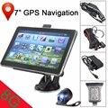7 Pulgadas Del GPS Del Coche Sistema de Navegación de ALTA DEFINICIÓN Cámara de Opinión Posterior del Revés de Copia de seguridad Inalámbrica Bluetooth 8G Sistema de Aparcamiento Marcha Atrás
