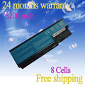 JIGU New 8Cell 14.8V 4400mAh Laptop battery replacement Aspire 5920G 8920G 8930 8930G AS07B31 AS07B41