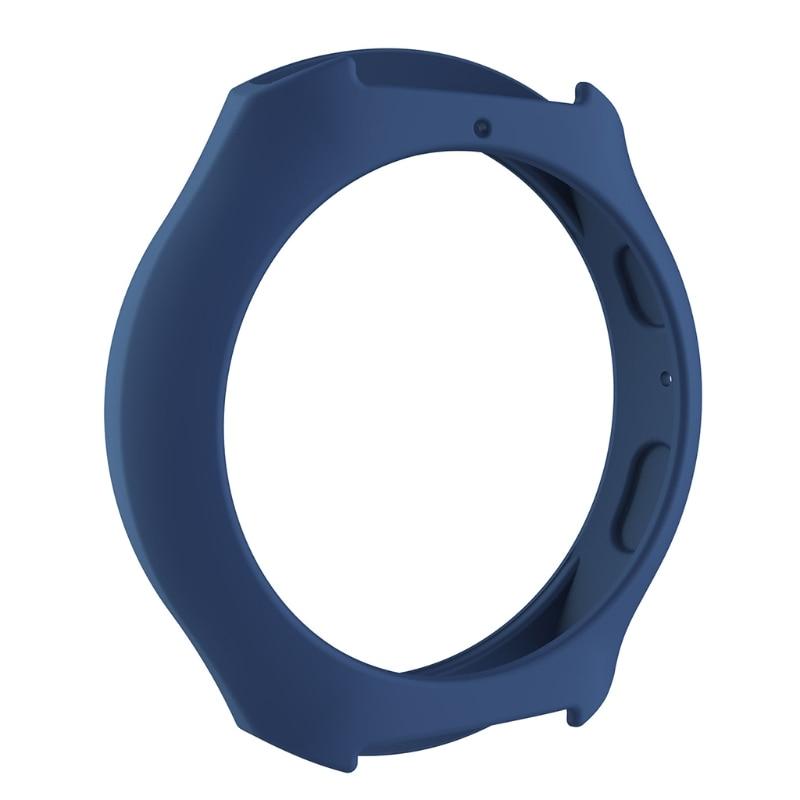Мягкий силиконовый защитный чехол для SamsungGalaxy gear S2 SM-R720 и SM-R730 - Цвет: BL