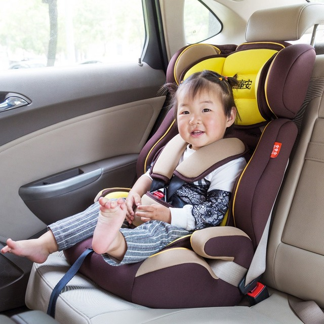 Good Quality Child Car Safety Seats Toddlers Baby Seat Cushion Kids Portable Carrier Childrens