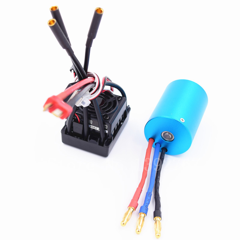 RC 107051 03302 3650 BRUSHLESS 540 Motor 50A Waterproof ESC 3300KV For 1 10 Scale Models