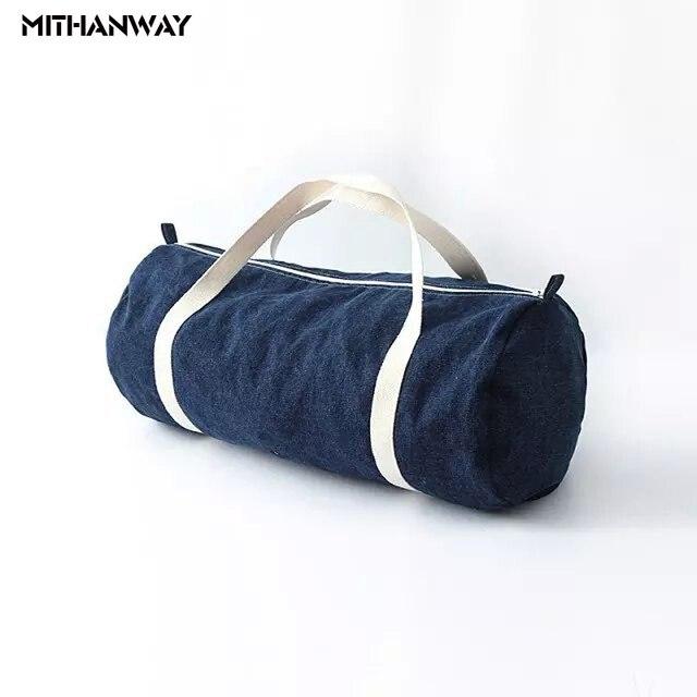 7a5ae39d54d9 Sport bag for Women Fitness Denim Bucket Duffel Shoulder Bag Portable Sports  Yoga Fitness Gym Bag Sports Bags Men