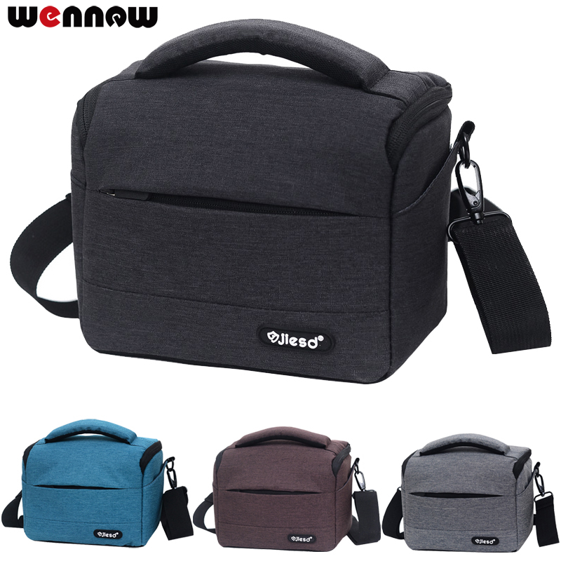 wennew Waterproof DSLR Camera Bag for Nikon Canon SONY Panasonic Olympus FUJIFILM Photography Photo Case Lens Backpack DSLR Bag