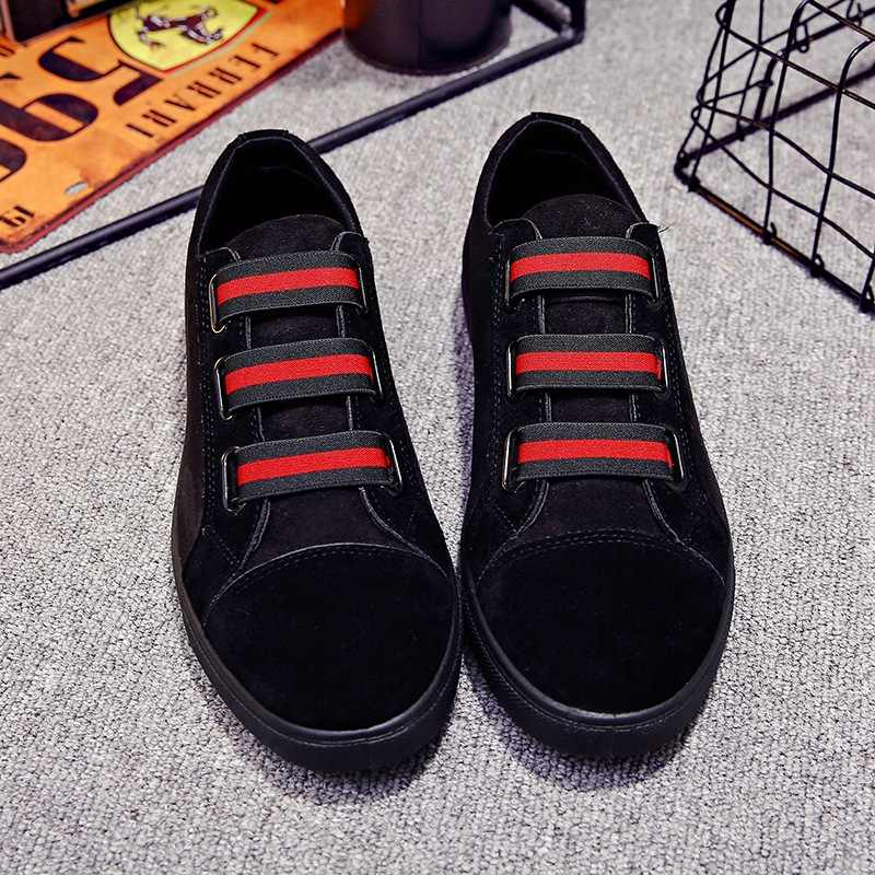 ... Повседневная модная мужская обувь для мальчиков лакированная кожа туфли  без каблуков удобные мужские лоферы Мужская обувь ... a7488a830bb