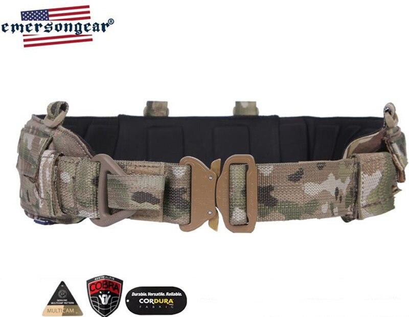 Ceinture de combat Cobra Emersongear ceinture tactique multi-fonction combinaison molle industrie lourde tir armée ventilateur ceinture