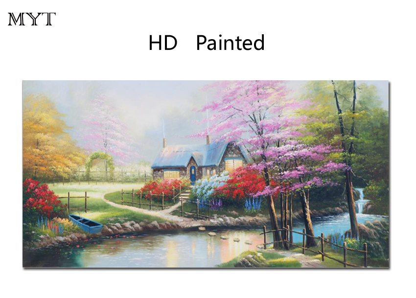 Hot sale HD Printing art canvas modern art on canvas beautiful scenery wall art home decor for living room free delivery unframe