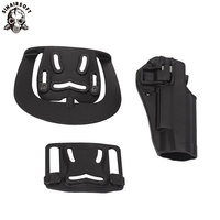 SINAIRSOFT Tactical Holster CQC Style Concealment Quick Right Hand Waist Pistol / Gun Holster Case Pouch For Colt 1911 M1911 Holsters     -