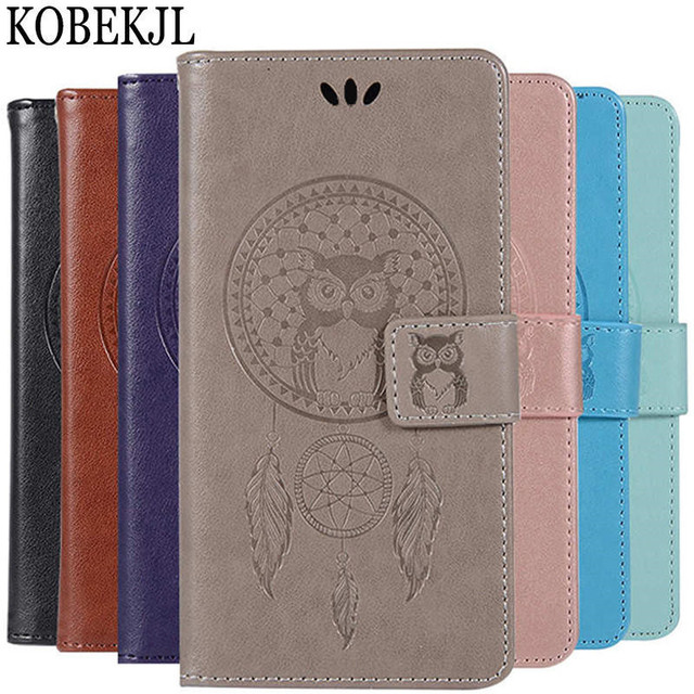 detailed look f34de b24c7 US $3.78 10% OFF|For Huawei Honor 7C Case Huawei Honor 7C Case Flip Wallet  PU Leather Back Cover Phone Case For Huawei Honor 7C AUM L41 5.7 inch-in ...