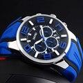Top Fashion Marca de Luxo SKMEI Relógios Men Watch Casual Quartz Relógio de Pulso À Prova D' Água Relógio Feminino Para Masculino Relogio 9128