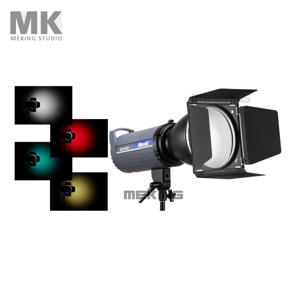 ФОТО Studio Flash Barndoor Strobe Honeycomb Light Control snoot 15cmwith Gel Filter Color for Strobe Monolight Studio Flash