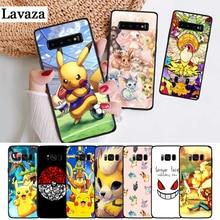Lavaza Pika Go PokeBall animal Silicone Case for Samsung S6 Edge S7 S8 Plus S9 S10 S10e Note 8 9 10 M10 M20 M30 M40