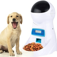 Automatic Pet Feeder Food Dispenser for Cats Dogs with LCD Display Voice Recording Timer Programmable Portion Control