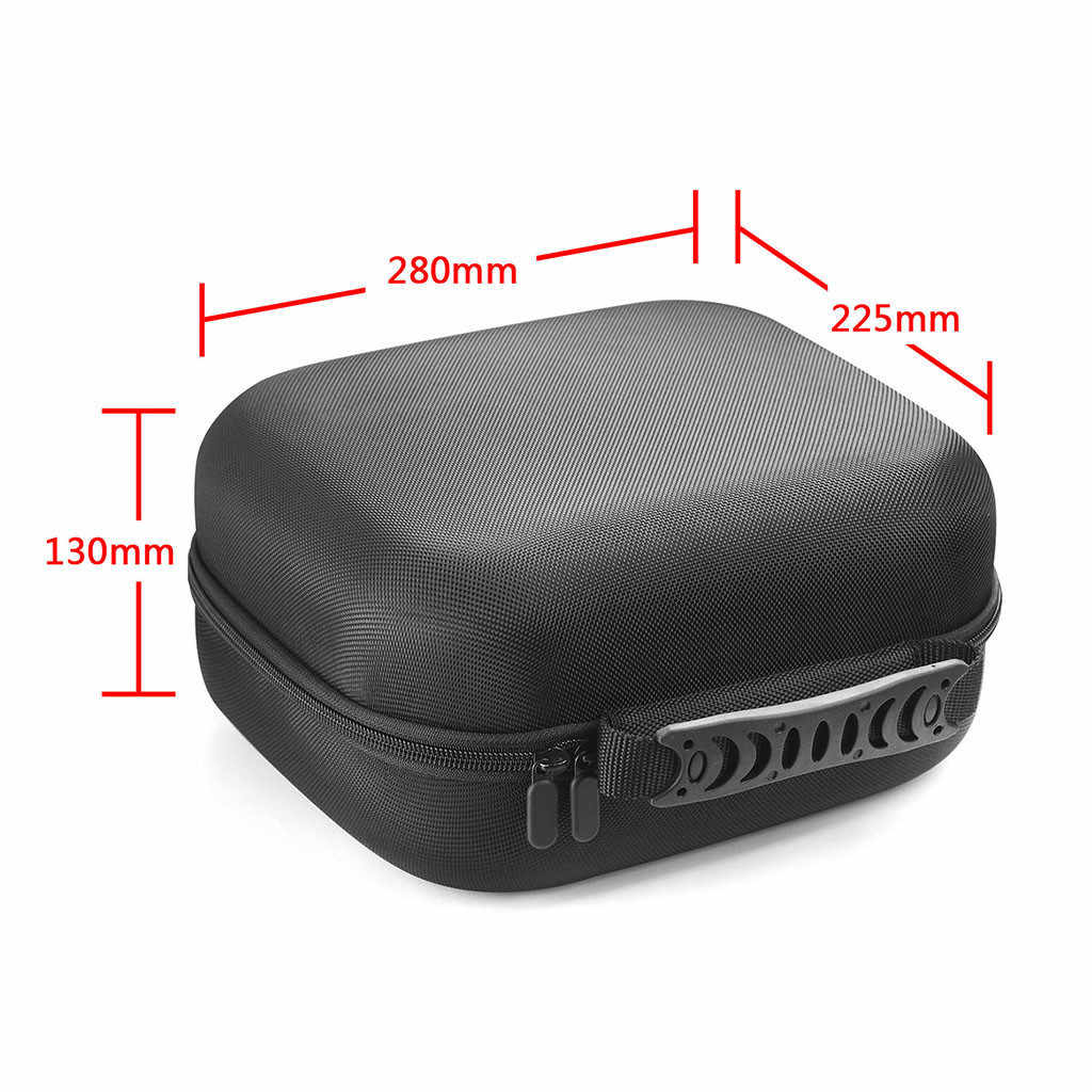 Bolsa de viaje con cremallera clásica Estuche portátil funda protectora anti-perdida para auriculares Logitech G430 7,1 DTS
