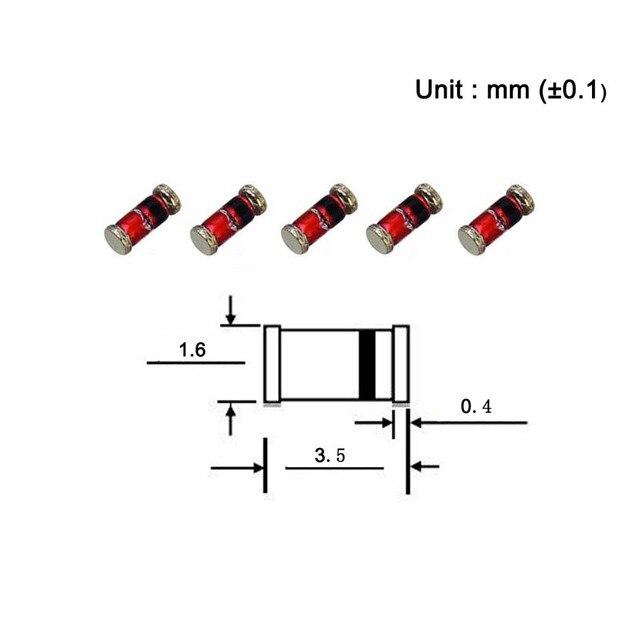 Zener 12V Rolle,Band 0,25W SOT23 SMD  einzelne Diode BZX84-B12.215 Zener Diode