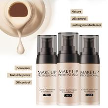 Foundation Liquid Makeup Base Long Lasting Nude Face Concealer