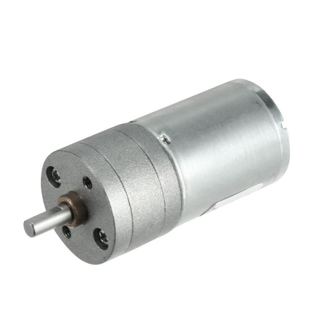DC 12V 30/200/500RPM 4mm Diameter Shaft Electric Gear Box Speed Reduce Replacement Motor 2 Terminals Connectors High Torque