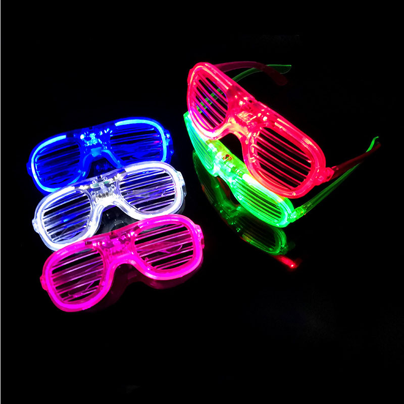 Shutter Glasses With LED Luminous Lighting For Birthday And Night Party 2