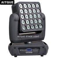 4 pcs Disco lyre dmx led matrix moving head led 25x10w led panel moving head light
