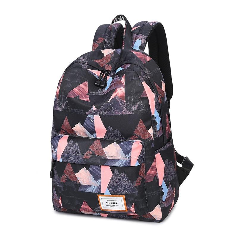 meninas backbolsa laptop mochila de Application : Fashion Preppy Estilo Japan And Korean Estilo Bookbag Backbag