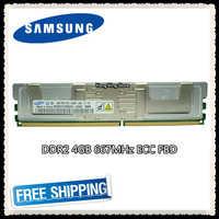Samsung DDR2 4 GB 8 GB 667 MHz di memoria del Server PC2-5300F ECC FUP FB-DIMM Fully Buffered RAM 240pin 5300 4G 2Rx4