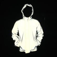 Mannen volledige reflecterende jas hip hop windjack zonder logos herfst vrouwen en heren jassen jaqueta masculina 4xl