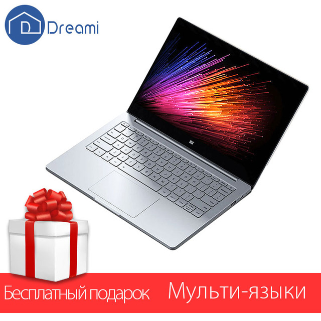 Dreami Оригинал Xiaomi Mi Ноутбук Воздуха 12.5 Дюймов Intel Core M3-6Y30 ПРОЦЕССОР 4 ГБ RAM 128 ГБ ROM SATA SSD Ноутбук Dual Core Windows10