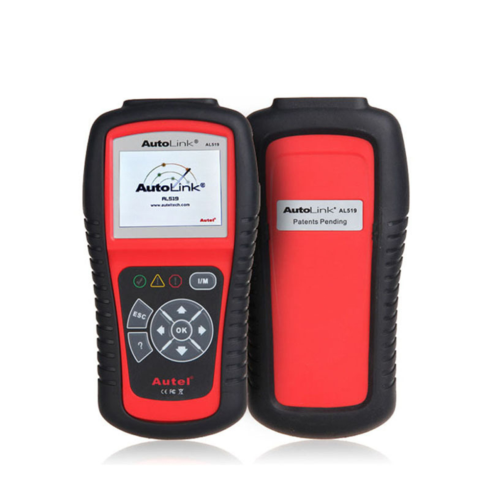 Original Autel Autolink AL519 scanner with promotion price ORIGINAL Autel AL 519 Code Reader work on ALL 1996 and New Vehicles 100% original autel autolink al519 code reader obdii eobd can scan tool updated online autolink al519 scanner free shipping