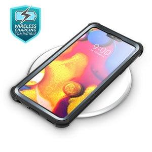 Image 5 - ل LG V40 Case i Blason آريس غطاء ممتص للصدمات كامل الجسم وعرة مع واقي للشاشة المدمج ل LG V40 ThinQ (2018 الإصدار)