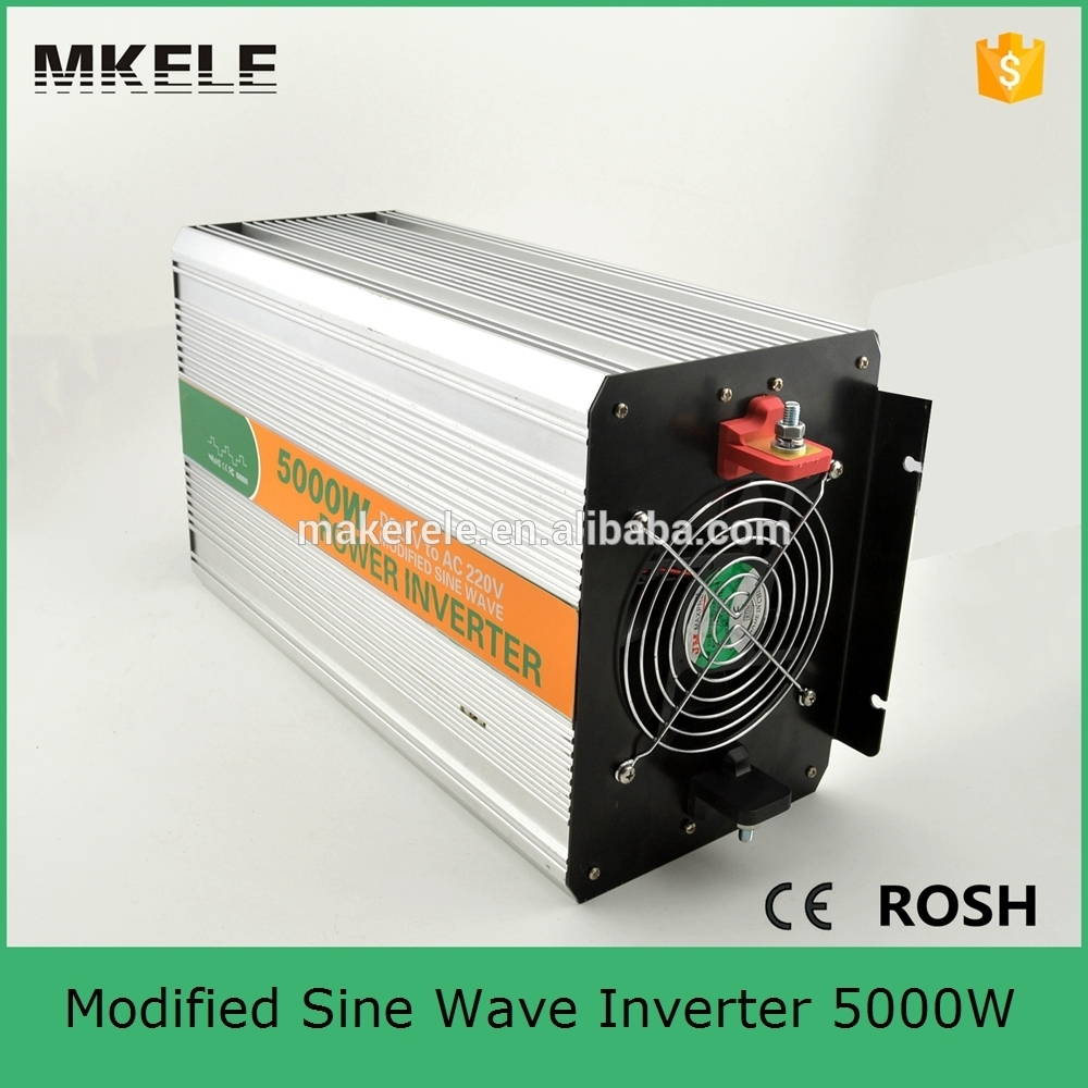 MKM5000-481G modified sine wave high power inverters 5000w inverter 5000va electric inverters dc48v to ac120v with CE ROHS 5000w dc 48v to ac 110v charger modified sine wave iverter ied digitai dispiay ce rohs china 5000 481g c ups